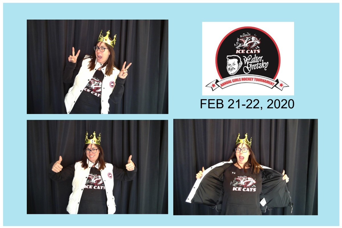 Organization Galleries 39th Annual Walter Gretzky Tournament 2019 20 Photo Booth Brantford Girls Hockey Association